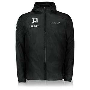 McLaren Honda Team Ultra-Light Water Repellent Jacket (XL/XXL) voor €15 + €9 verzending @ McLaren