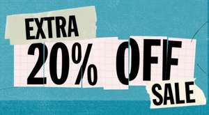 SALE + 25% extra korting @ Urban Outfitters