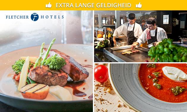 3-gangendiner bij Fletcher ( 100 restaurants )