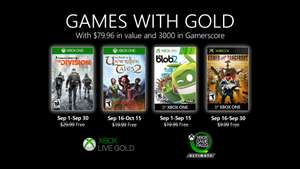 Games with Gold van September 2020