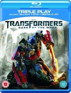 Transformers 3: Dark of Moon  (Blu-Ray, DVD en Digital Copy) voor € 3,79 @ Zavvi