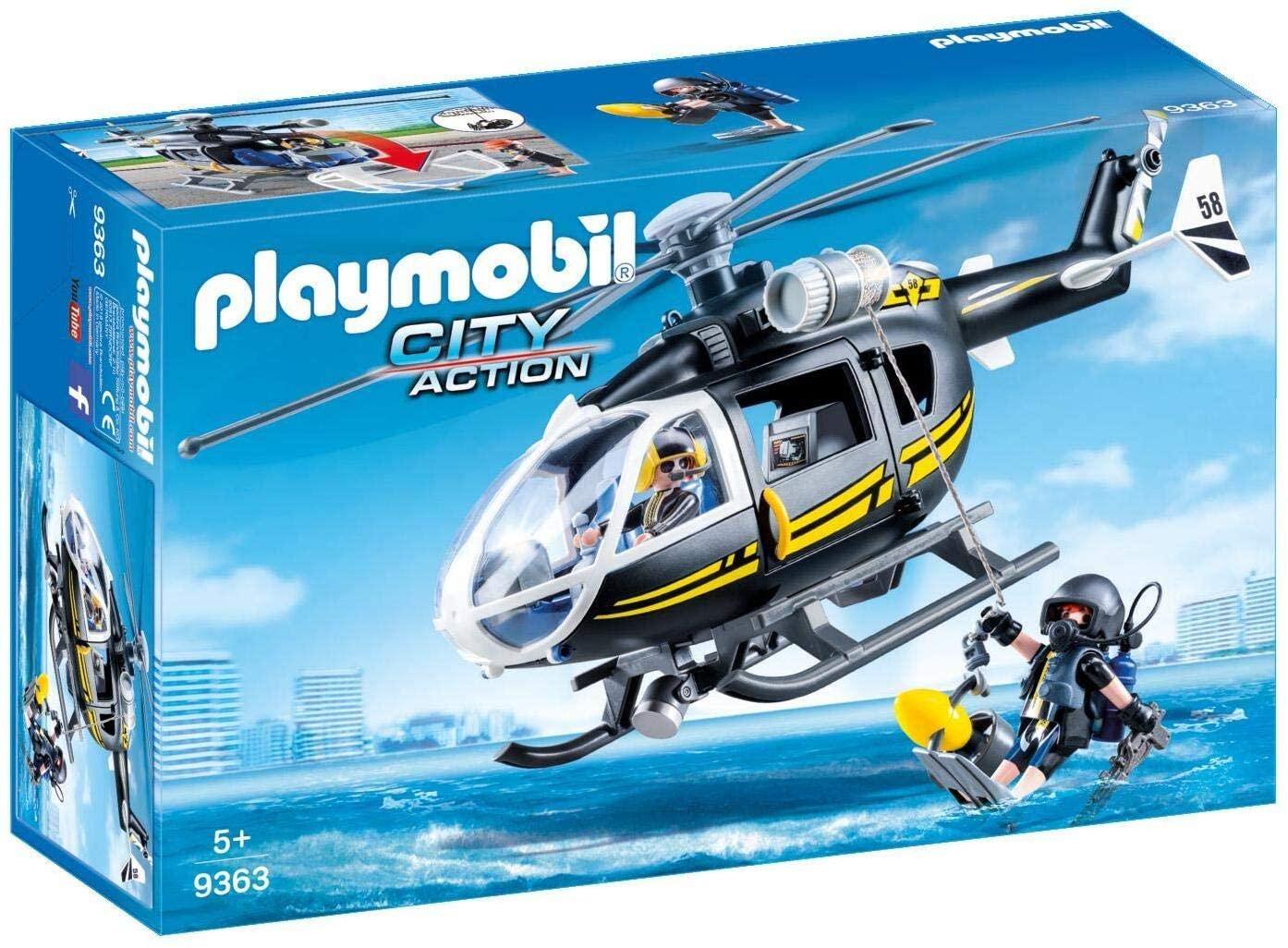 Playmobil 9363 SIE-helikopter voor €13,55 @ Amazon.nl