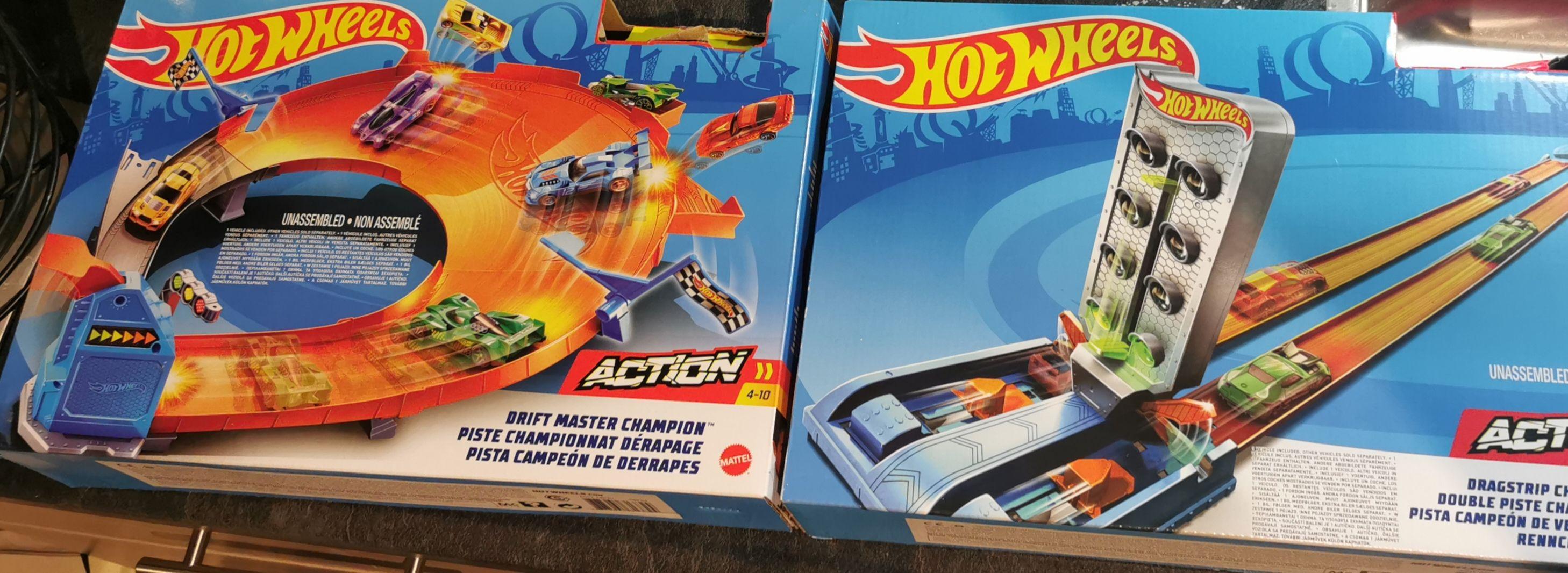Diverse Hot wheels Action set @ Action