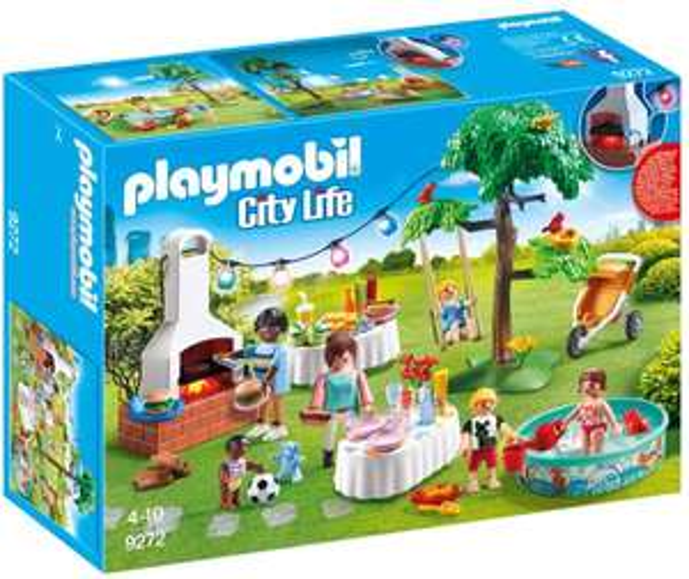 Playmobil 9272 City Life familiefeest met bbq voor €13,55 @ Amazon