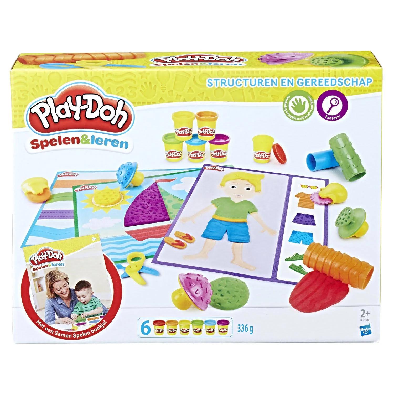 Play-Doh Structuren & gereedschap voor €9,95 @ dagknaller