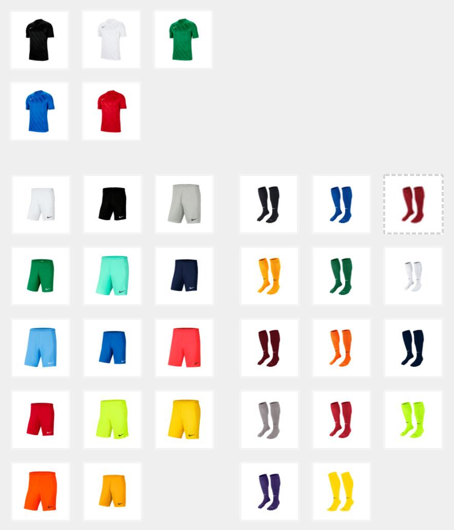 Nike 3-delige voetbalset - Pick & Mix @ Geomix