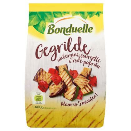 Bonduelle Vriesverse groente, bijvoorbeeeld zaak 400g gegrilde groenten @ PLUS