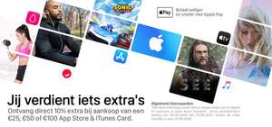 10% extra App Store/itunes tegoed @ Startselect