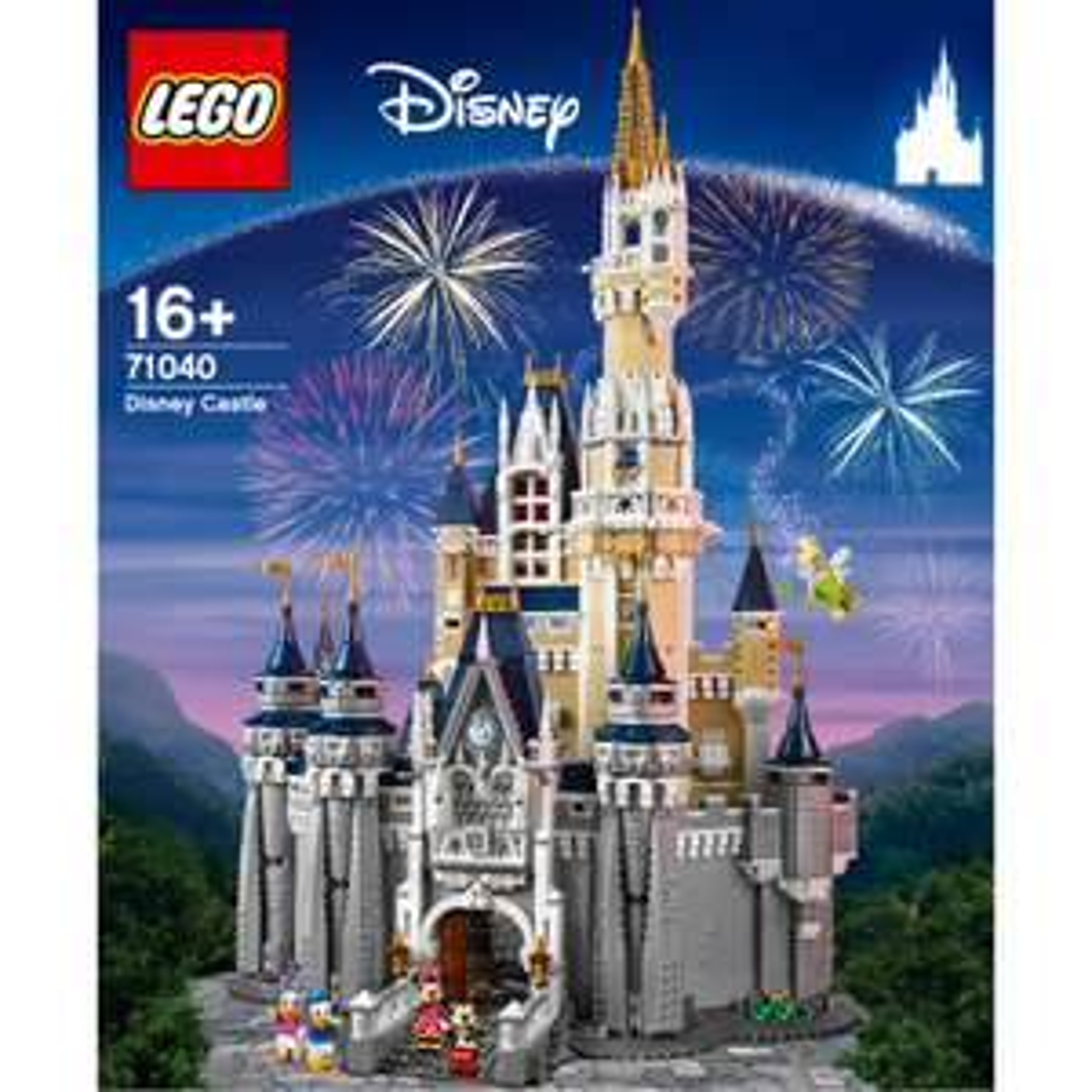 LEGO Disney: The Disney Castle 71040