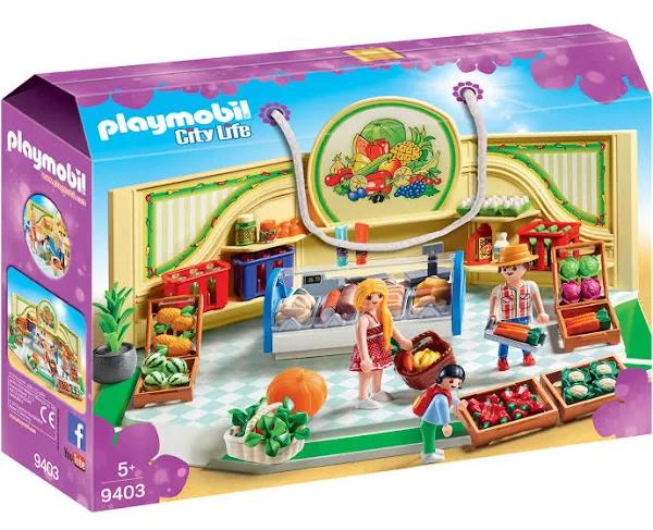 Playmobil 9403 City Life Kruidenier @ Amazon