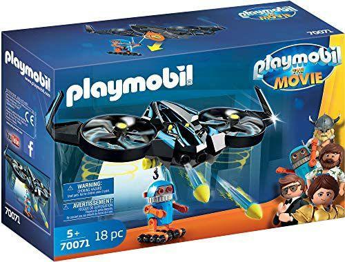 PLAYMOBILThe Movie - Robotitron met drone (70071)
