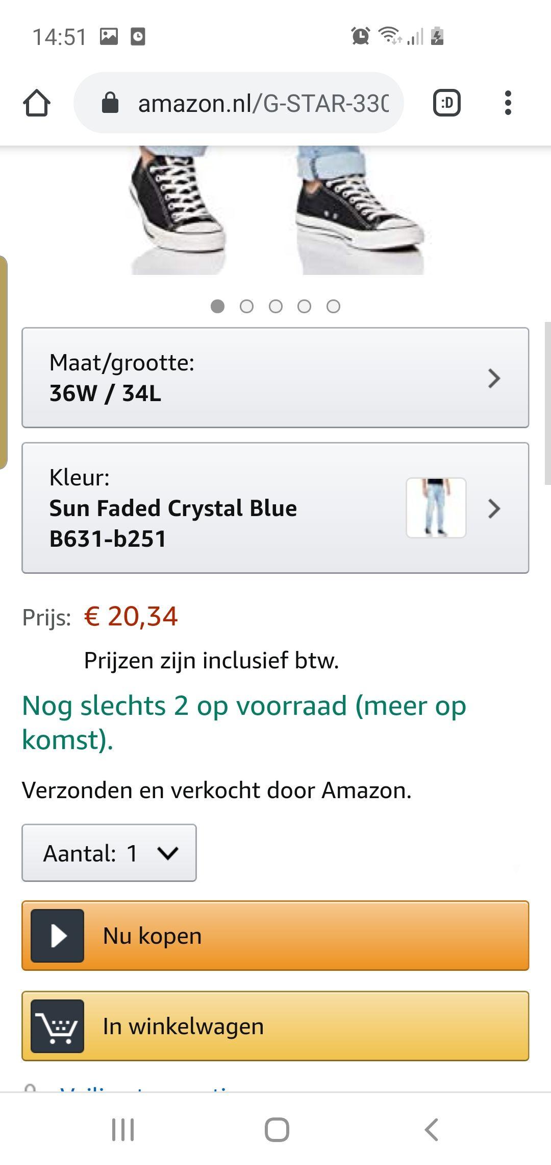 G star broek amazon.nl