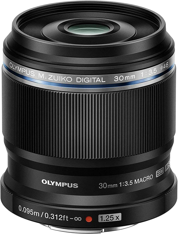 Olympus 30mm macro lens voor MFT (M43)