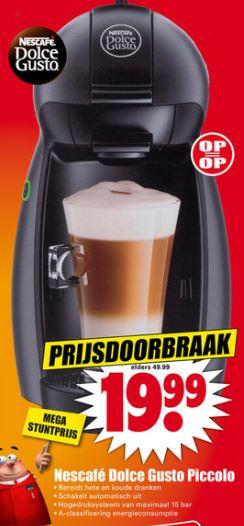 Nescafé® Dolce Gusto Piccolo KP100B @ Dirk