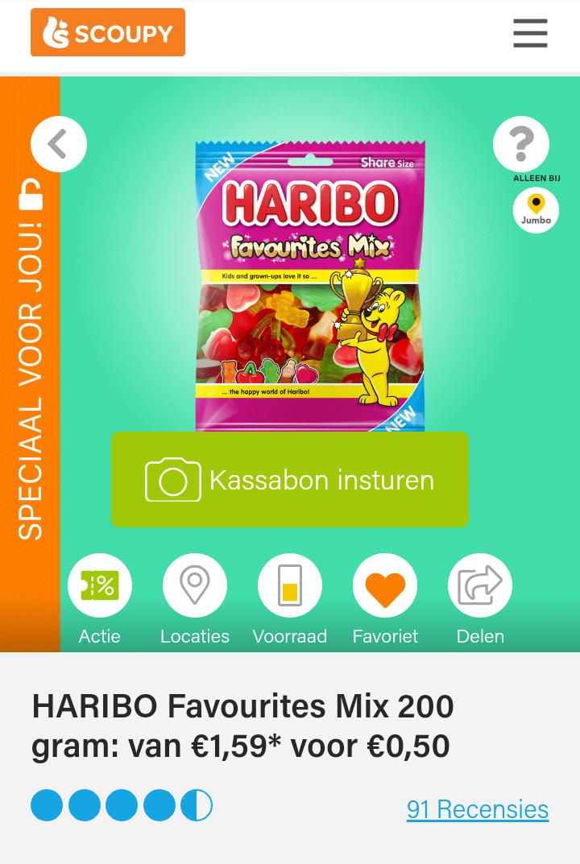 Haribo Favourites Mix 200 gram - Scoupy