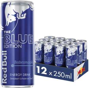 Red Bull Blue Edition (& andere smaken) 250 ml 12/24-pack