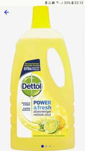 Dettol power & fresh allesreiniger 4x1 liter