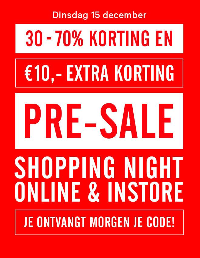 [UPDATE] Pre-Sale tot 70% korting en  €10 extra korting @ The Sting