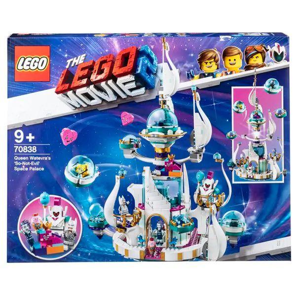 Lego Koningin Watdanooks 'echt-niet-kwaadaardige' ruimtepaleis (70838) 20% korting bij aanschaf van 2 lego sets of 1 lego en playmobil sets