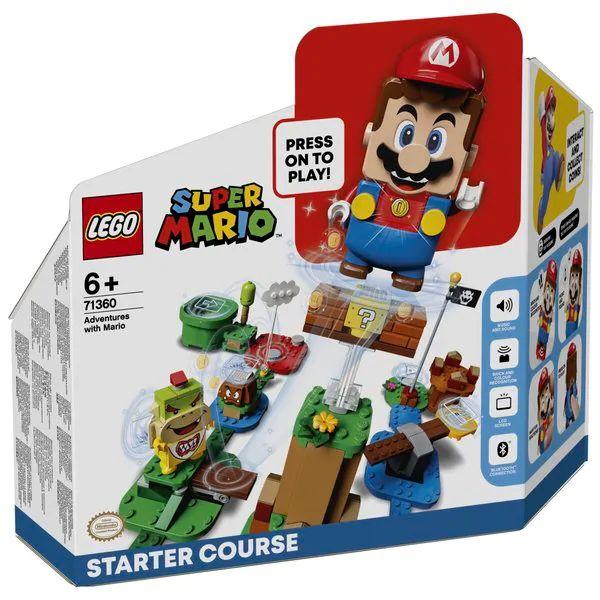 LEGO Super Mario Avonturen met Mario startset 71360 20% korting bij aanschaf van 2 Lego sets of 1 Lego en 1 Playmobil set