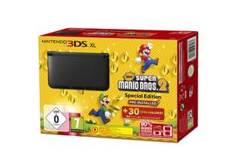 Nintendo 3DS XL Console + New Super Mario Bros 2 voor €145,- @ Game Mania