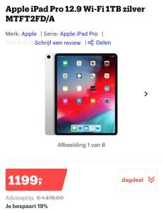 Apple iPad Pro 12.9 Wi-Fi 1TB
