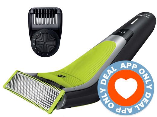 Philips OneBlade Pro QP6505/21 - Baardtrimmer @ iBOOD