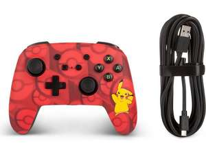 PowerA Nintendo Switch Wired Controller Pikachu Rood @ iBOOD