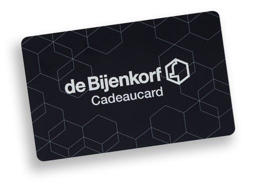 Bijenkorf Cadeaucard met korting bij ING en/of Eurosparen