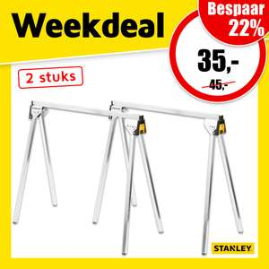 Stanley STST81337-1 Metalen Zaagbok Set (2 stuks) @ Toolstation