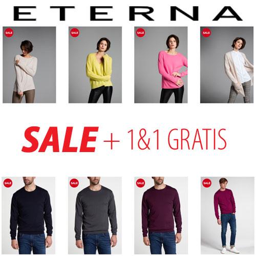 Knitwear SALE + 1+1 gratis @ Eterna