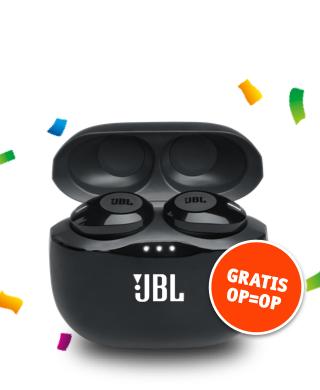 Actie vriendenloterij: Gratis JBL TUNE 125TWS