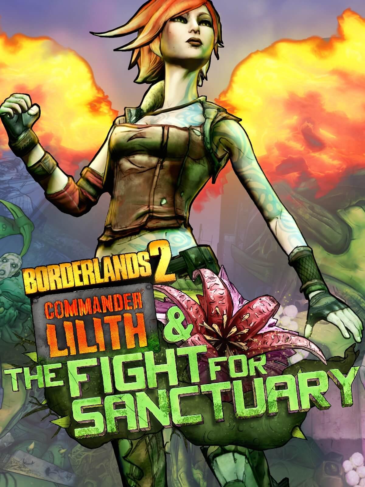Borderlands 2: Commander Lilith & the Fight for Sanctuary DLC gratis te claimen @ Epic Games