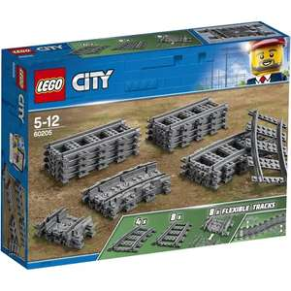 Lego City Treinrails (60205) @Amazon