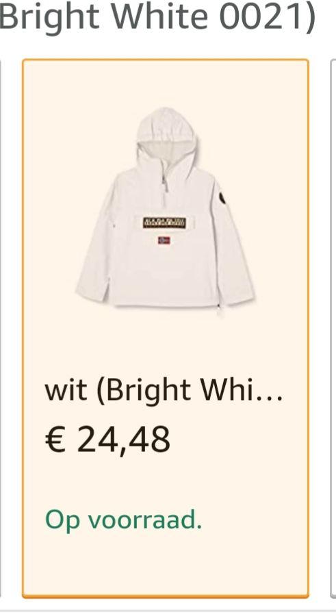 Napapijri jongens jas/jack K RAINFOREST SUM 2 @ Amazon.nl