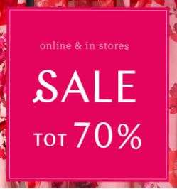 SALE tot -70% + 25% extra korting @ Steps