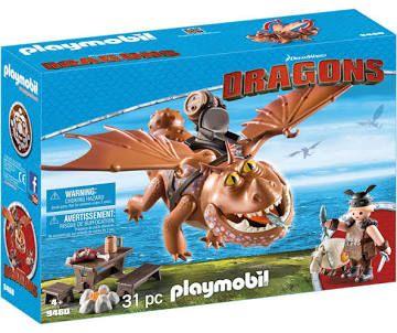 Playmobil Dragons Vissenpoot & speknekje