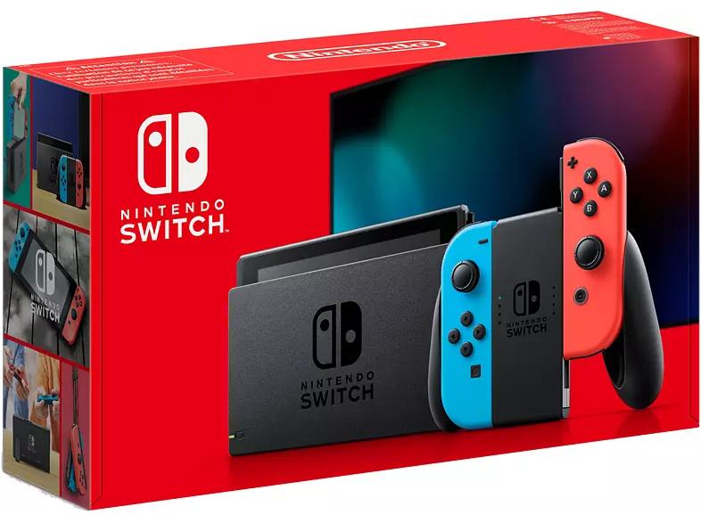 Nintendo Switch: Neon of grijs