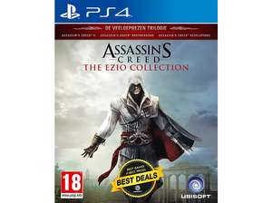 Assassin's Creed: The Ezio Collection - PS4 (Mediamarkt + Bol.com)