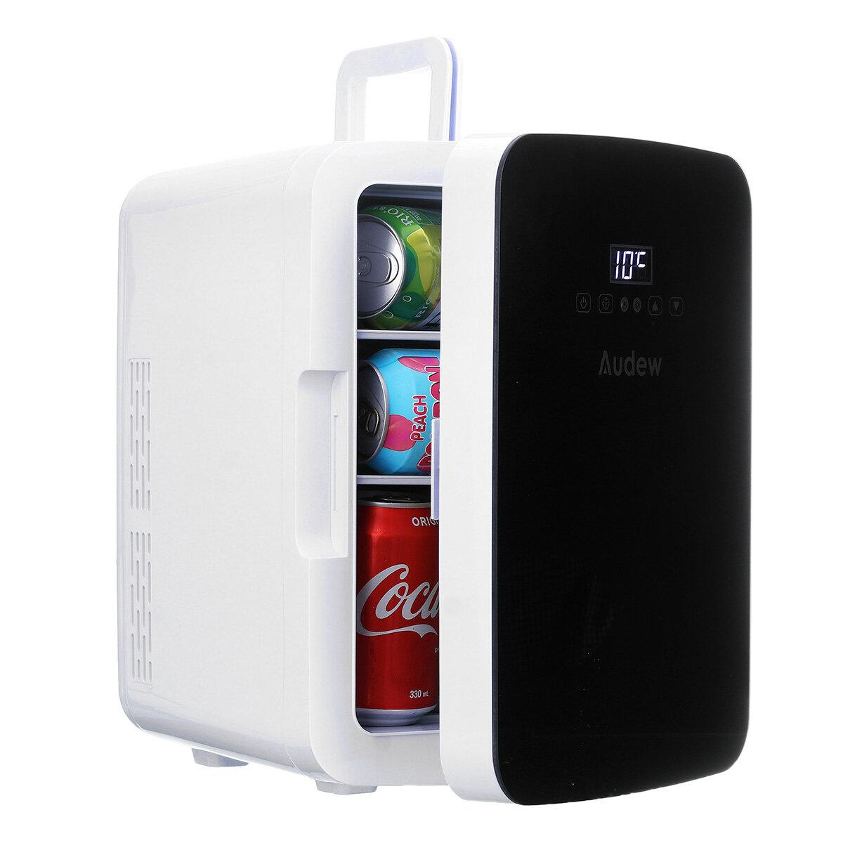 Audew Mini koelkast 10l met touchscreen (voor thuis en auto)