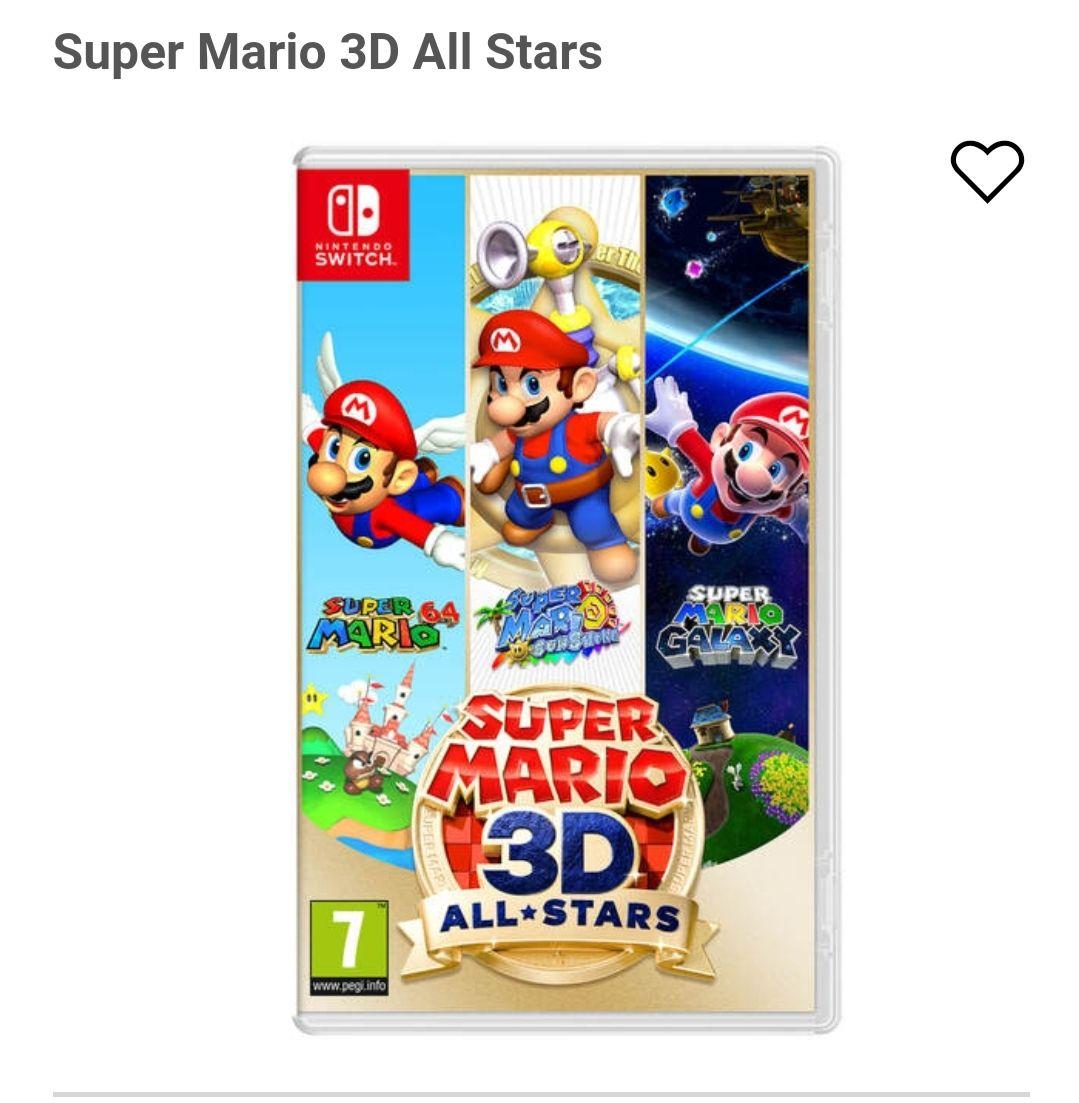 (Link in beschrijving) Super mario all stars nintendo switch PRE ORDER CARD VERSIE (release 18-09)