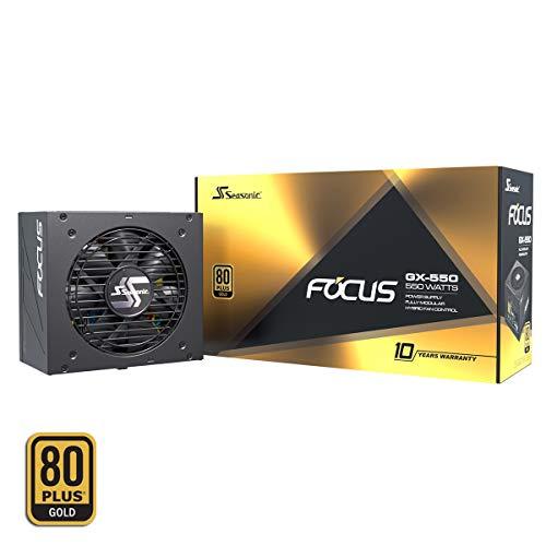 Seasonic Focus GX-550 voeding (550Watt, excellent, ideaal voor Game-PC)
