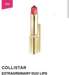 Collistar Extraordinary Duo Lips Lipstick @ ICI PARIS XL