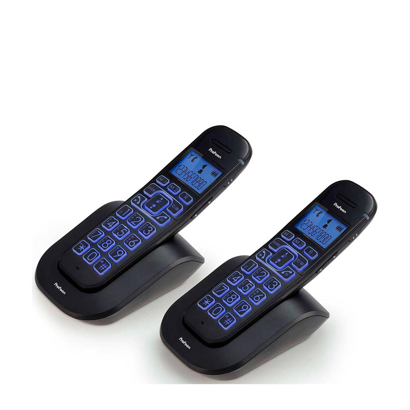 Profoon PDX-2808 DUO Big button DECT telefoon voor €35,45 @ Bol.com Plaza