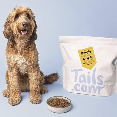 Max 17 kilo! Hondenvoer Proefpakket @ Tails ( opzeggen )