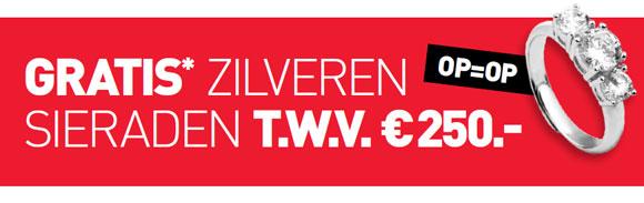 GRATIS sieradenvoucher t.w.v. €250 @ Scapino (min besteding €50 aan actieproducten - eerste 50 klanten)