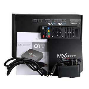 Android TV Box MXQ Pro Amlogic S905 4K (Mediaspeler) voor €18,74 @ Geekbuying