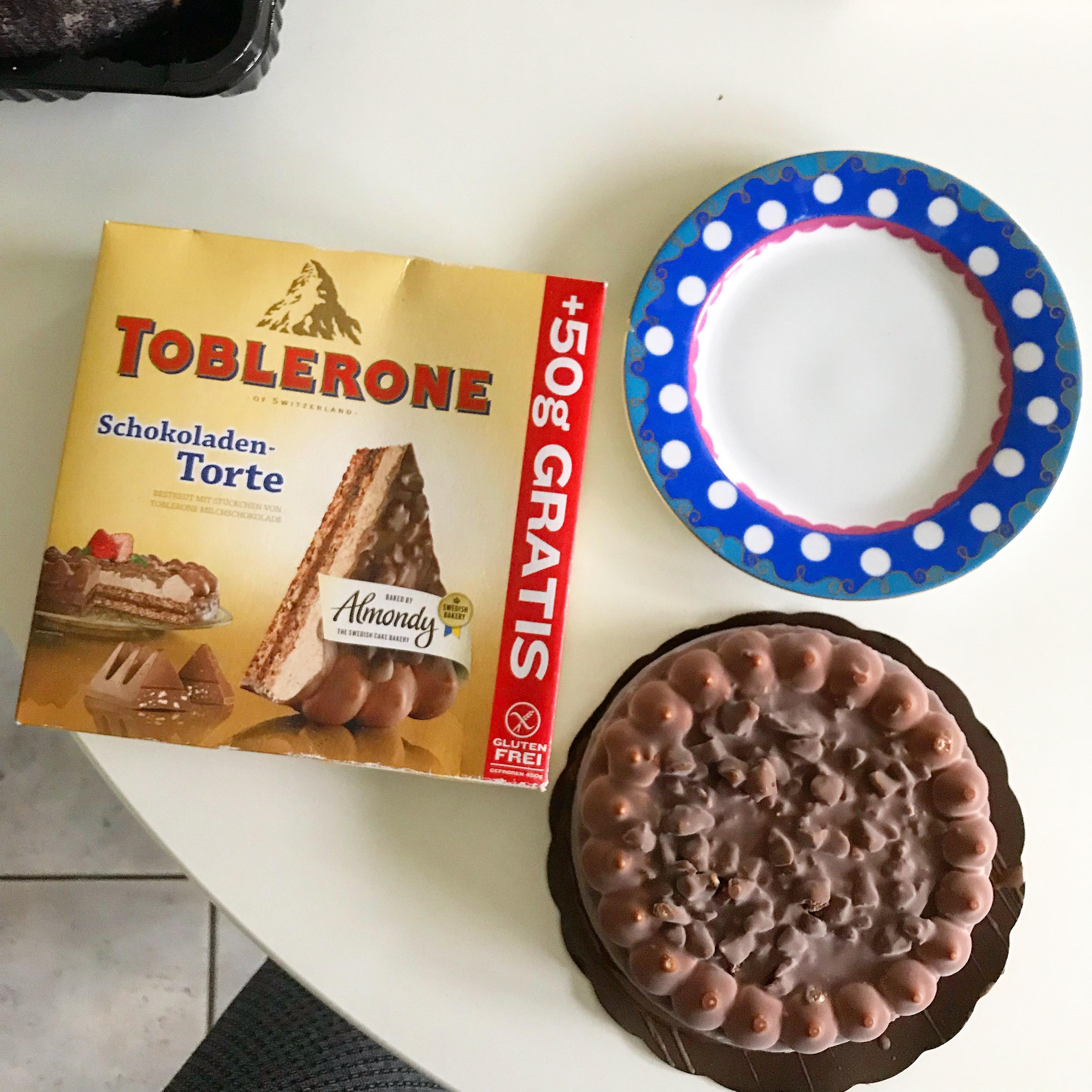Terug van weggeweest: Toblerone taart @ Lidl