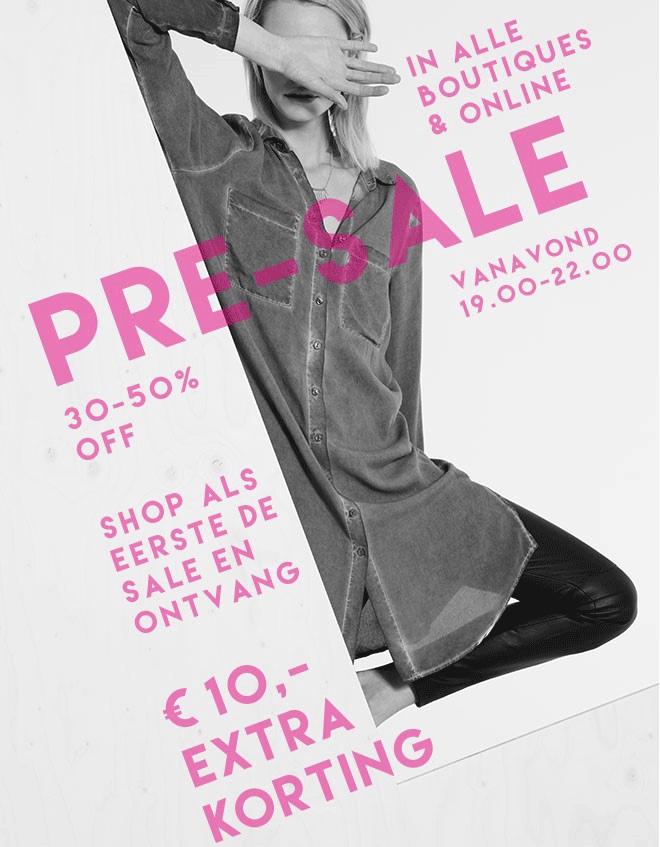 Vanavond 19-24u: 30-50% SALE @ Costes + €10 extra korting met code (min €50)