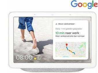 Google Nest Hub Chalk bij iBood